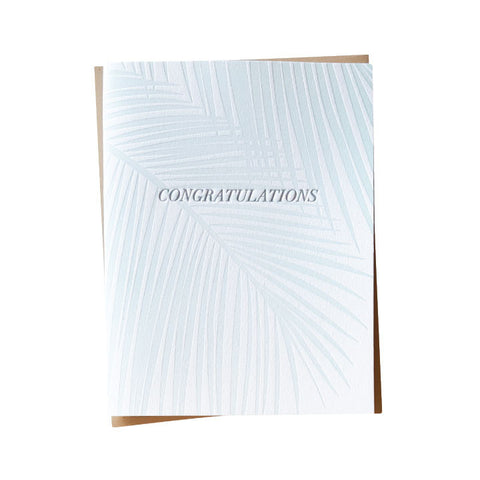 Breezy Congratulations Card