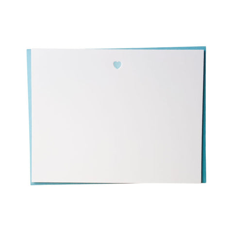 Simple Heart Note Cards