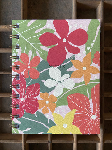 Garden Spiral Bound Notebook