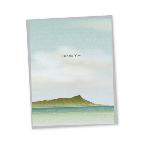 Diamond Head Thank You Notes