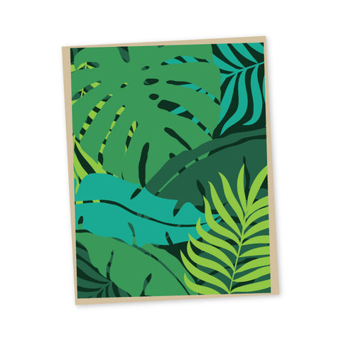 Rainforest Folded Note Cards