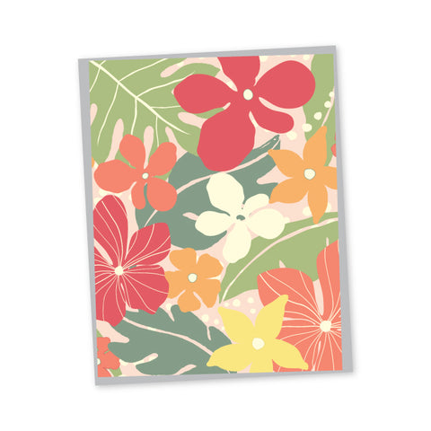 Garden Folded Note Cards - Single or Set of 6 - 177/177S