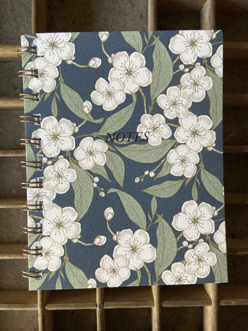 Ume Blossom Spiral Bound Notebook