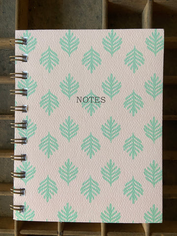 Lauae pink Spiral Bound Notebook