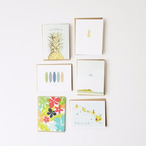 Folded Card Assortment - Set of 6