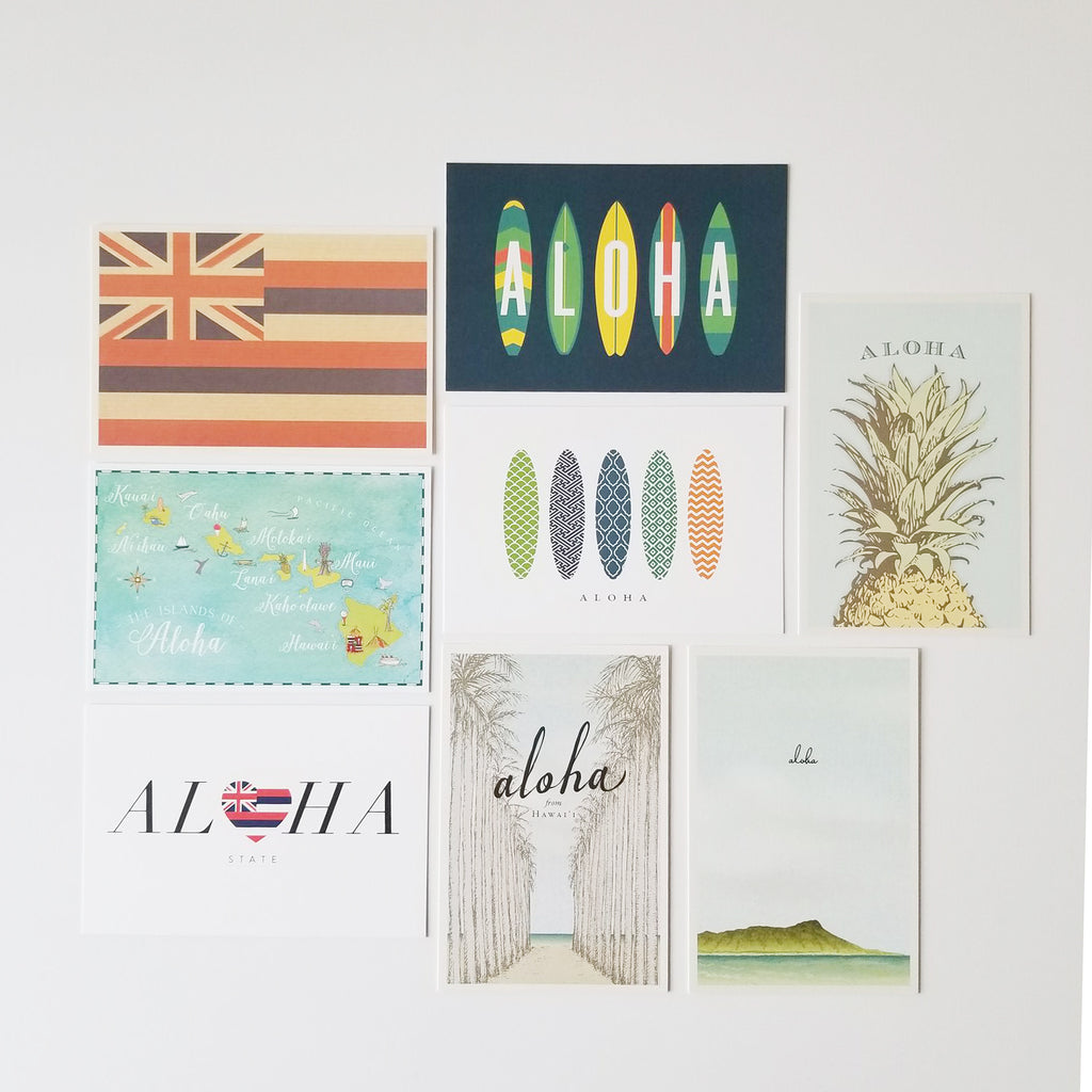 Hawaii Postcard Assortment