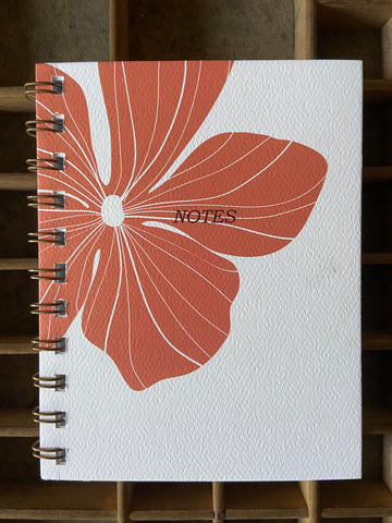 Hibiscus Spiral Bound Notebook
