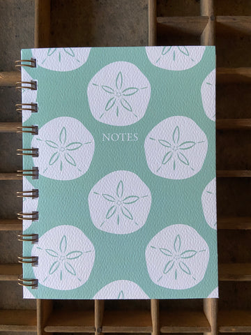 Sandollar Spiral Bound Notebook