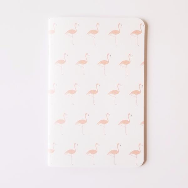 Flamingo Large Notebook