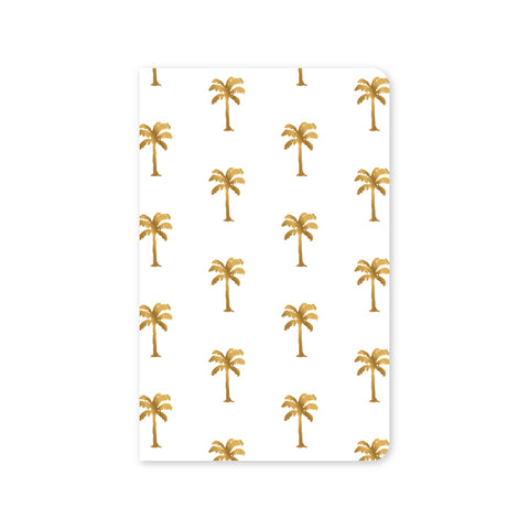 SALE! 30% off! $3.15, normally $4.50 Foil Palms Mini Notebook