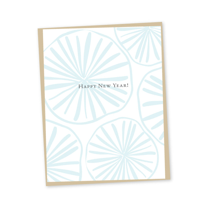 Opihi New Year Letterpress Card