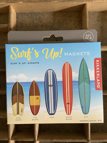 Surfboard Magnets - Set of 5