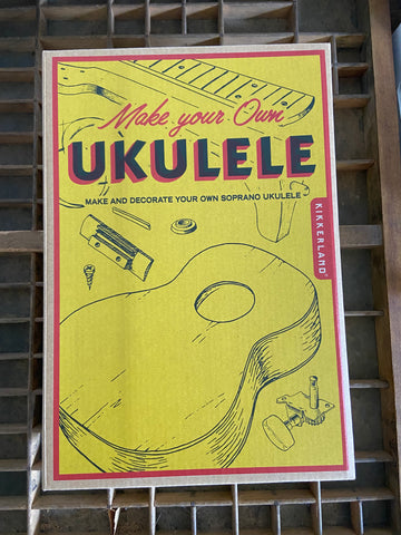 Build your own ukulele