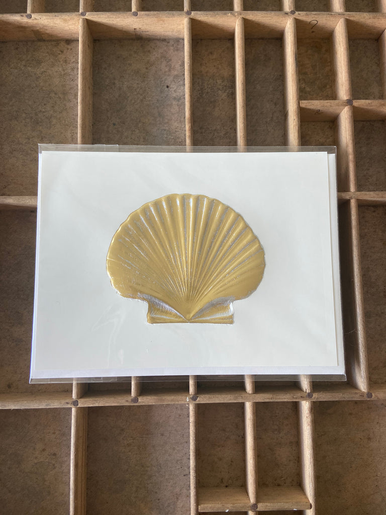 Scallop Card 5x7 by Paula Skene