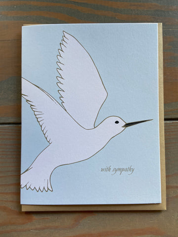Sympathy Tern Folded Card