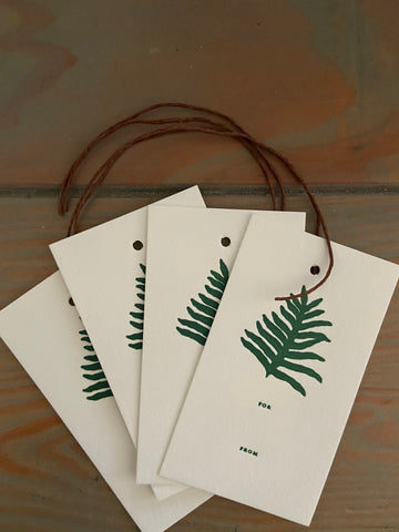 Lauae Gift tags Set of 4 Gift Tags