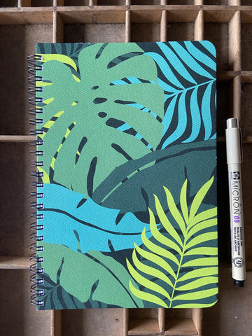 Rainforest Large Spiral Notebook