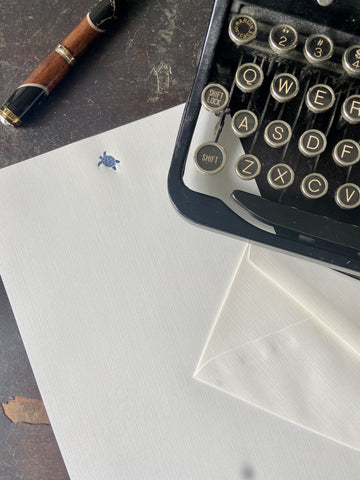 Honu Letterpress Monarch Stationery Set
