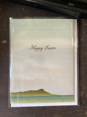 Diamond Head Easter Folded Note Cards