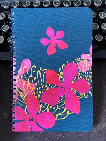 Mokara & Protea Large Spiral Notebook