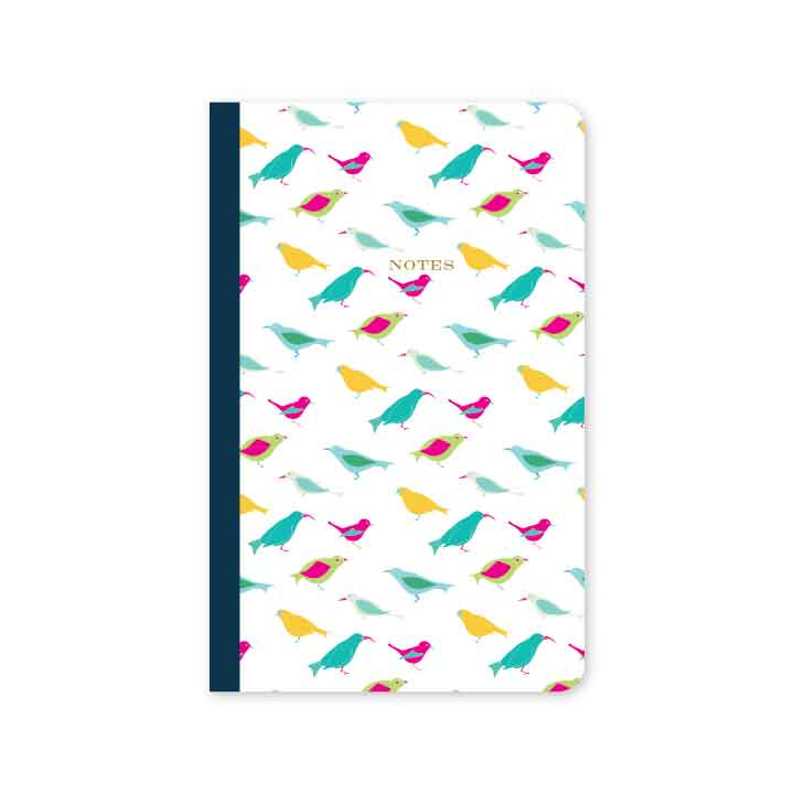 Birds of Paradise Mini Notebook