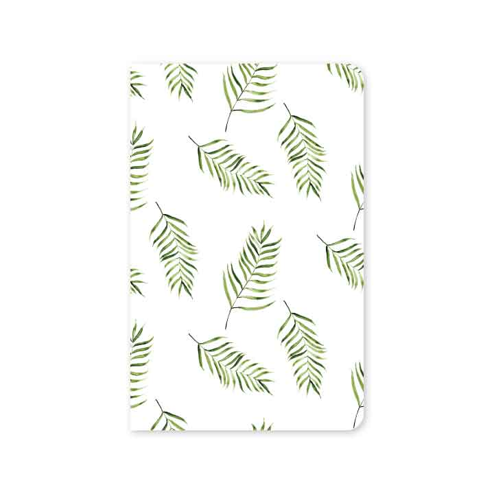 Palm Fronds Mini Notebook