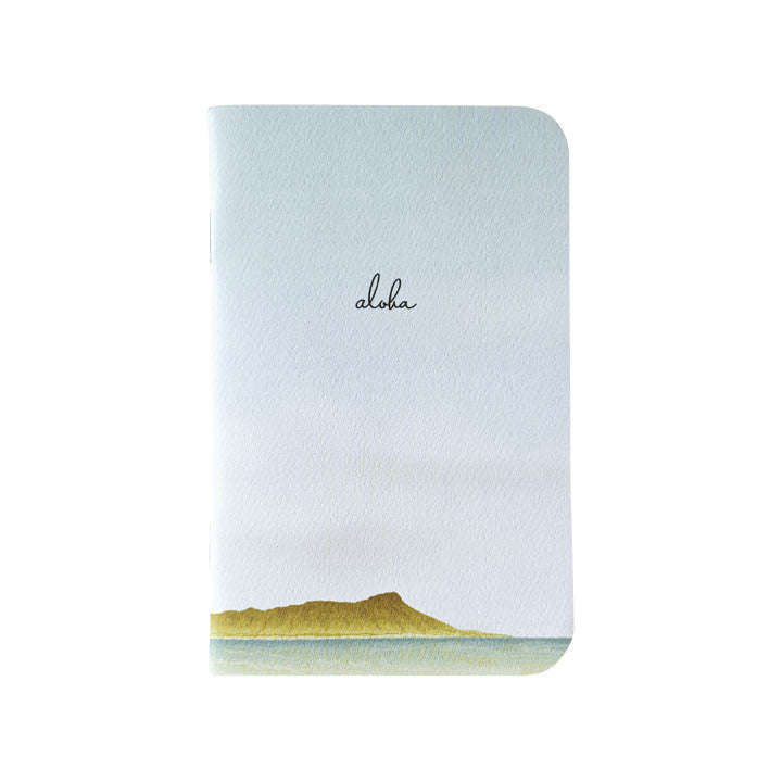 Diamond Head Mini Notebook