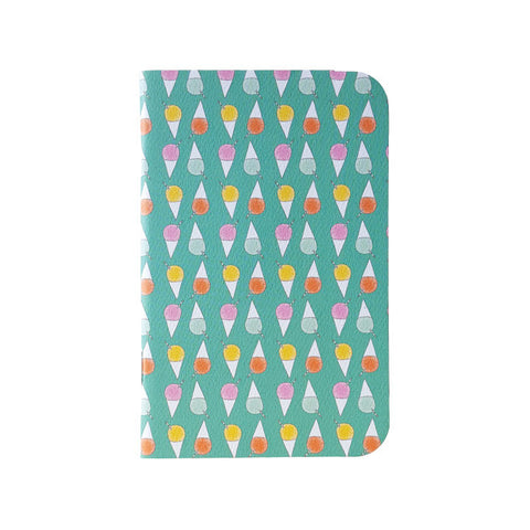 SALE! 30% off! $3.15, normally $4.50 Shave Ice Mini Notebook