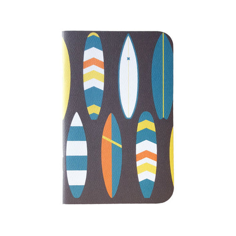 SALE!! 30% OFF! Now $3.15, normally $4.50 Bold Surfboard Mini Notebook