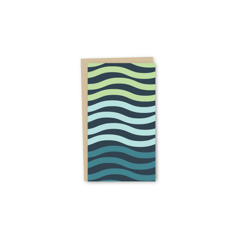 Modern Waves Offset Mini-Card