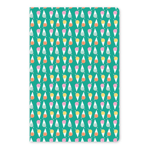 Shave Ice Large Notebook