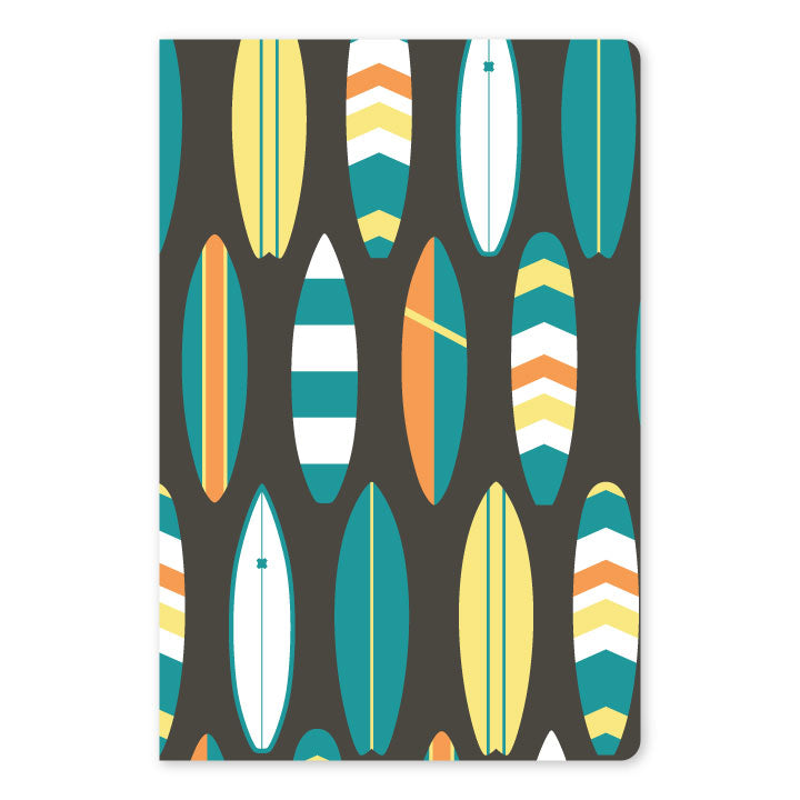 Bold Surf Large Notebook