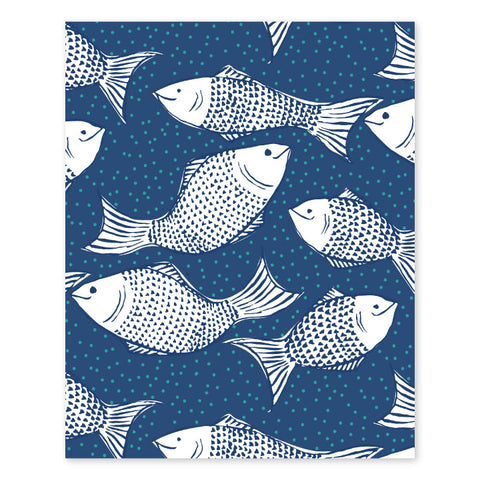 Something's Fishy Art Print