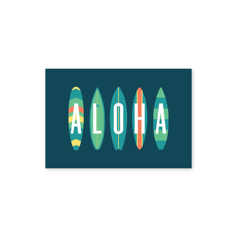 Bold Surf Postcard - Wholesale (Min. 12 Units) - PC002