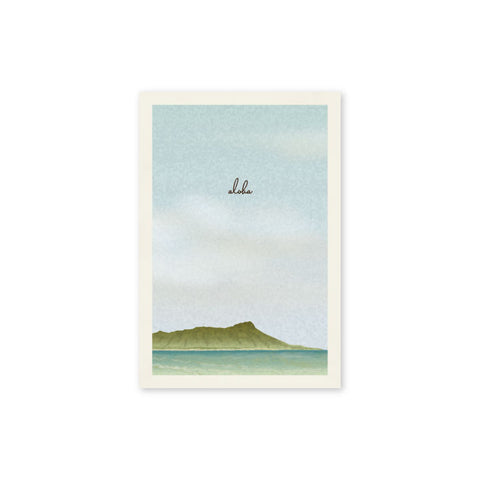 Diamond Head Postcard - Wholesale (Min. 12 Units) - PC004