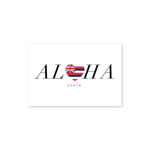 Aloha State Postcard - Wholesale (Min. 12 Units) - PC008
