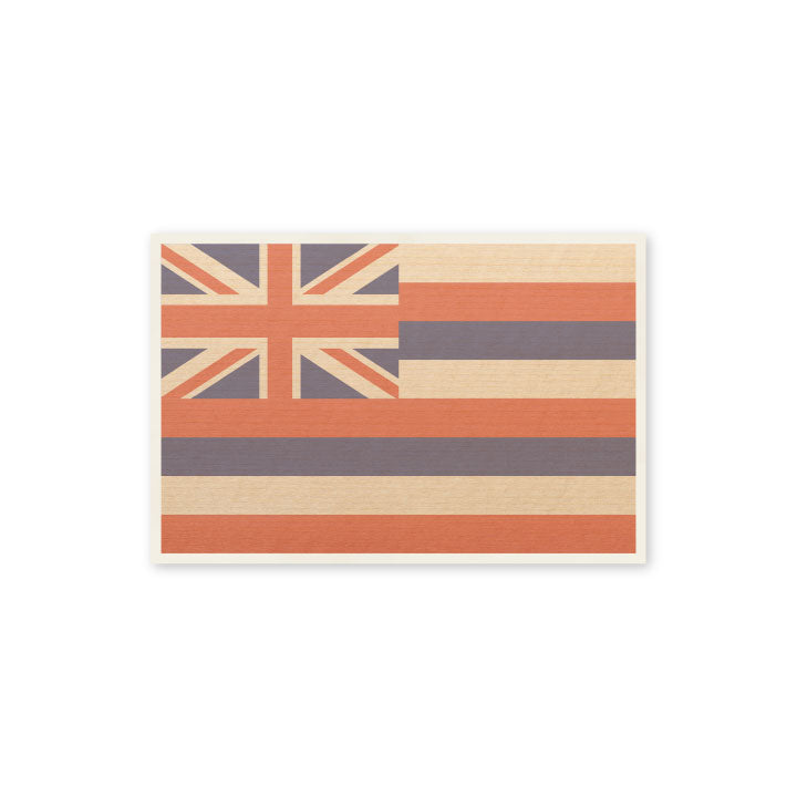 Hawaiian Flag Postcard