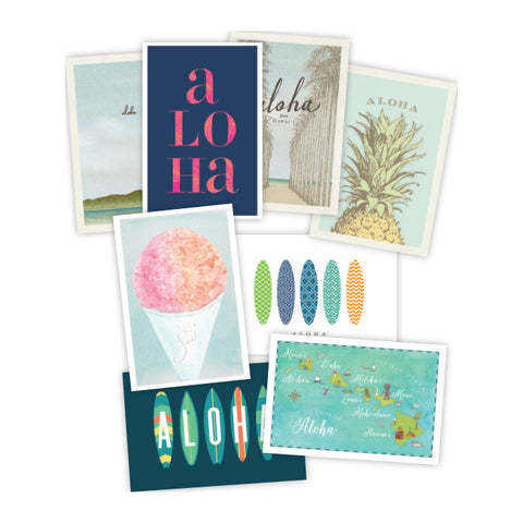 Postcard Variety Set of 8