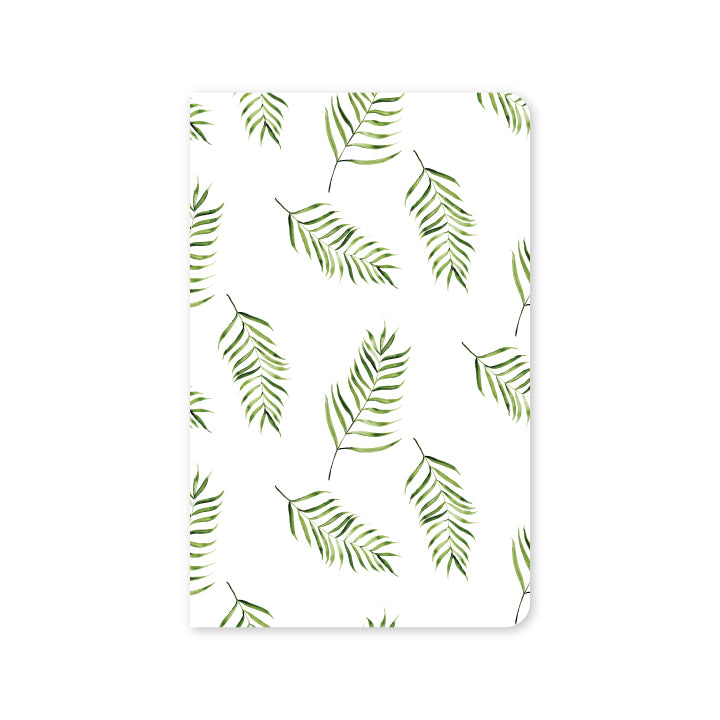 Watercolor Palms Mini Notebook