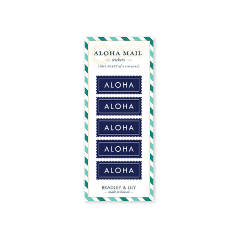 Aloha Mail Stickers