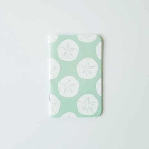 Sand Dollar Mini Notebook