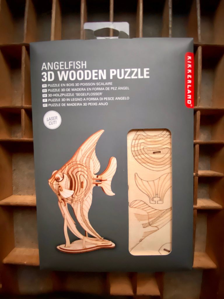 Angel Fish Wood 3D Puzzle