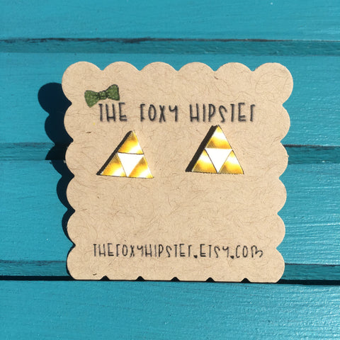 Triforce Stud Earrings