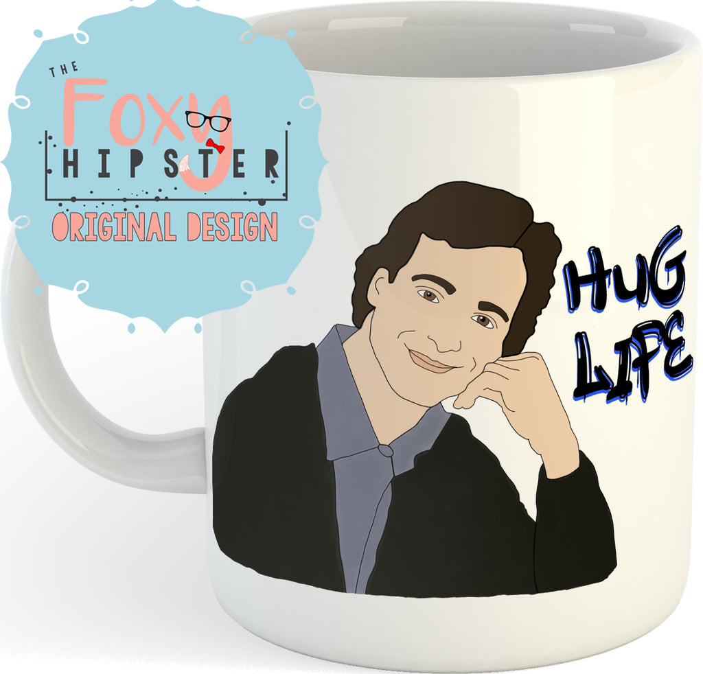 Danny Tanner Hug Life Full House 11oz coffee mug