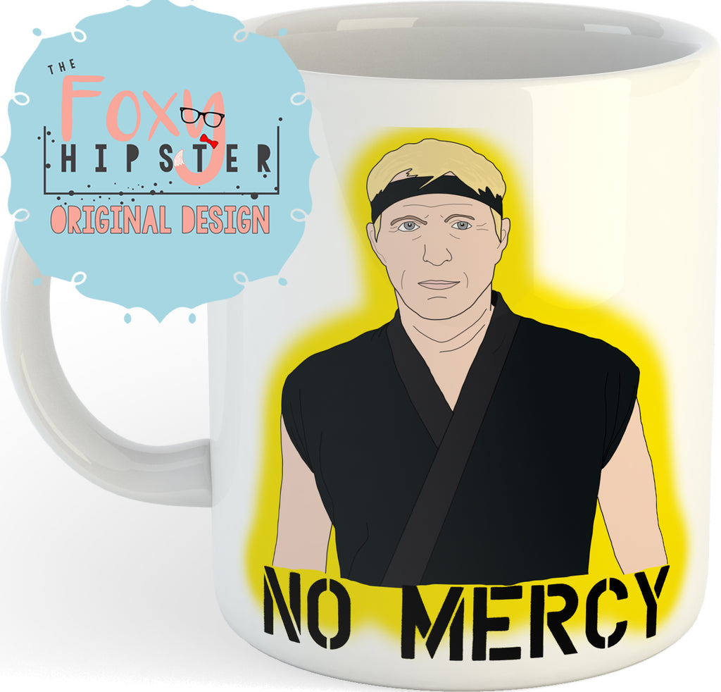 Cobra Kai Johnny Lawrence No Mercy  11oz coffee mug