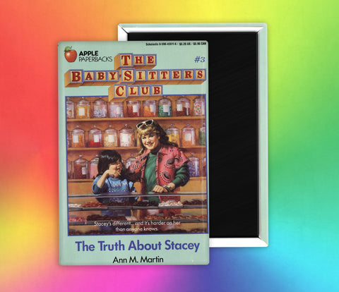 Babysitters Club The Truth About Stacey Fridge Magnet