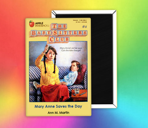 Babysitters Club Mary Anne Saves the Day Fridge Magnet