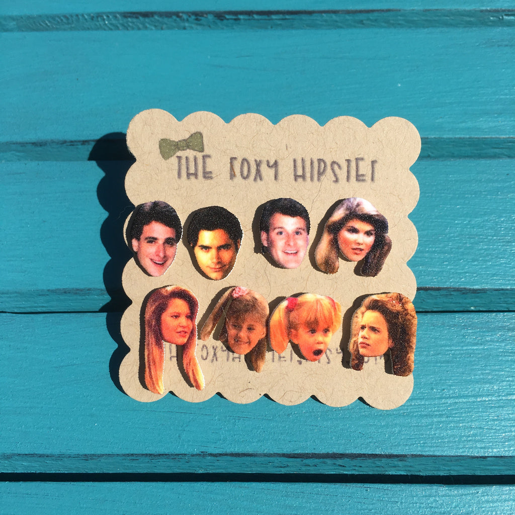 Full House Cast Stud Earrings