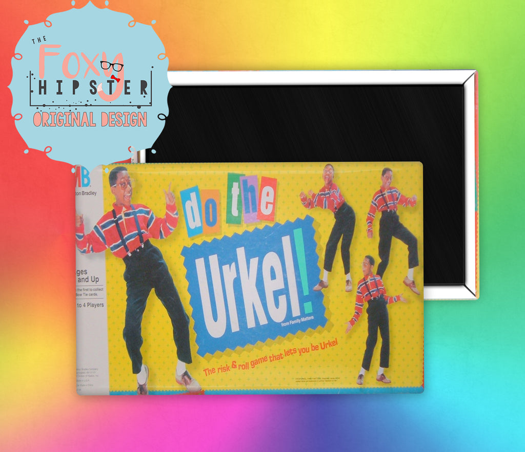 Board Game Do The Urkel Fridge Magnet