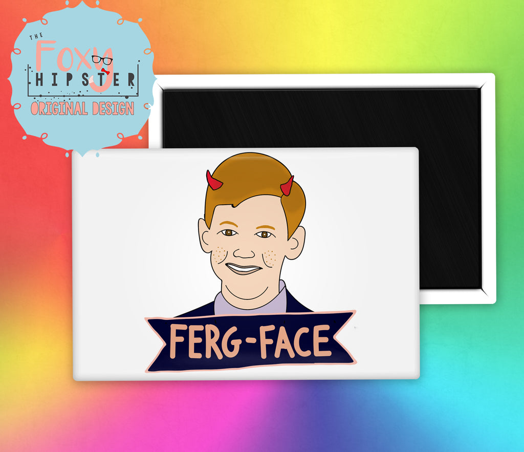Ferg Face Clarissa Explains it All Fridge Magnet